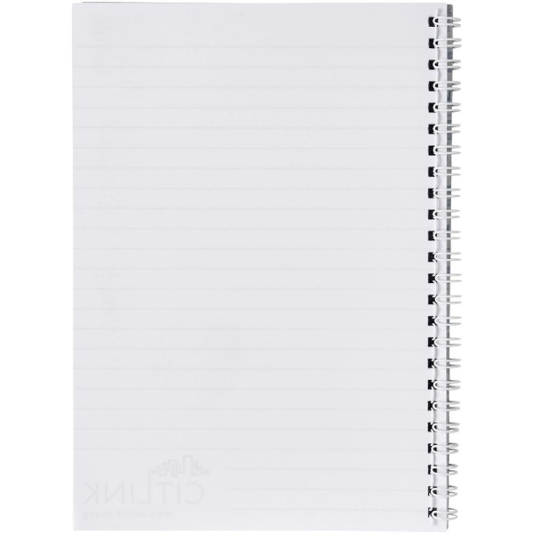 Desk-Mate® spiral A5 notebook - White / 80 pages