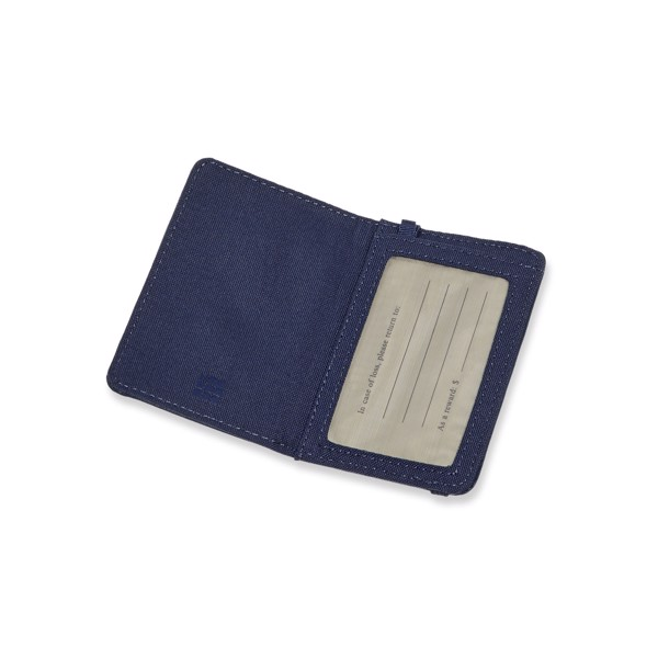 Classic luggage tag - Sapphire blue