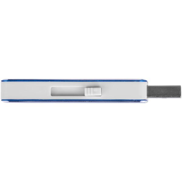 "Memoria USB de 2 GB ""Glide"" - Azul Real"