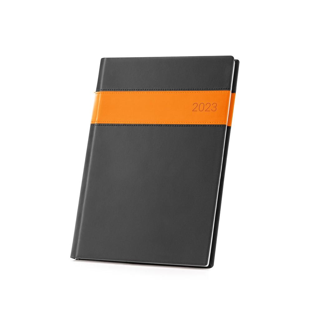 DUED B5. Diář B5 - Oranžová