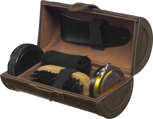 PU shoe polish set