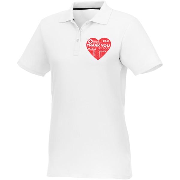 Helios short sleeve women's polo - White / XXL