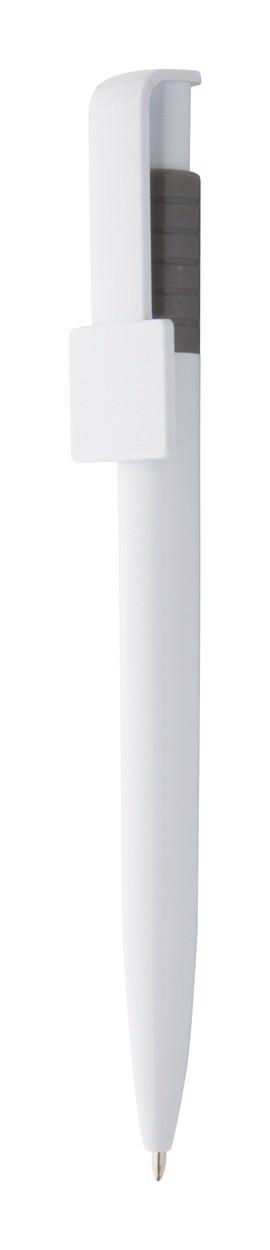 Ballpoint Pen Coder - Dark Grey / White