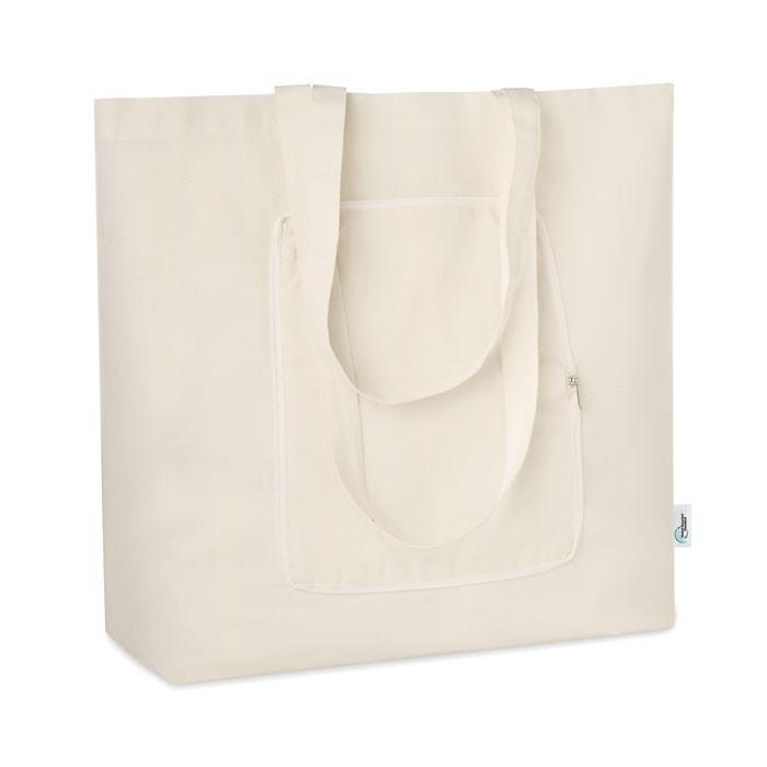 Faltbare Einkaufstasche GRS Zigzag
