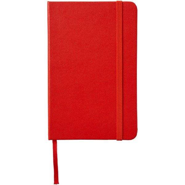 Classic PK hard cover notebook - dotted - Scarlet red