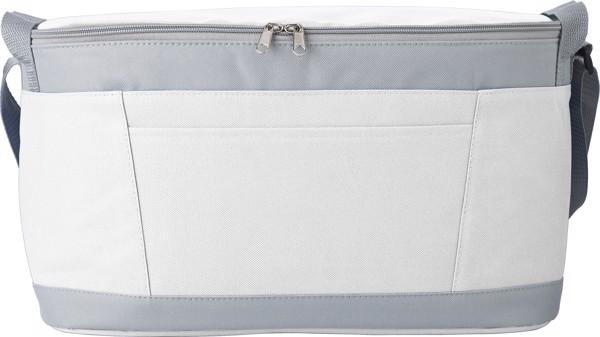 Kühltasche 'Eisprinz' aus Polyester - White