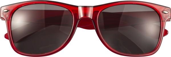 Sonnenbrille 'Shade' aus Acryl - Red