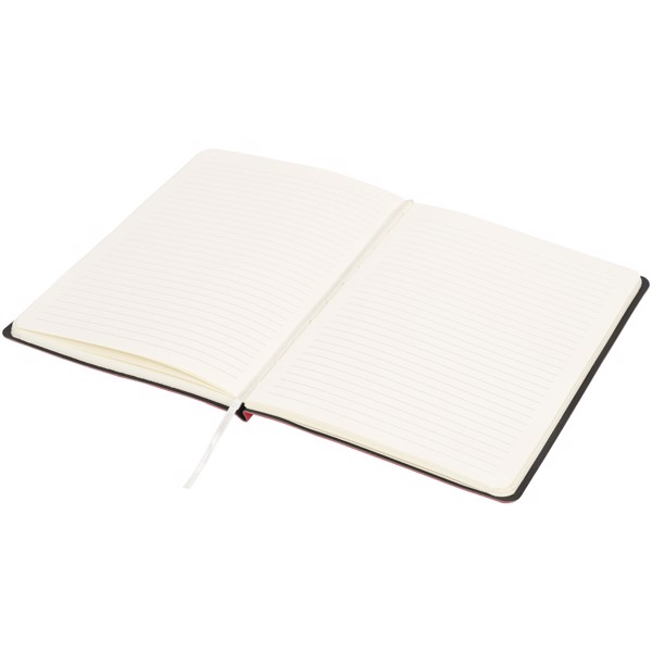 Liberty soft-feel notebook - Red