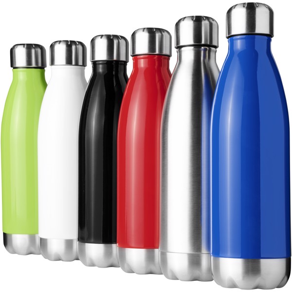 Arsenal 510 ml vacuum insulated bottle - Blue
