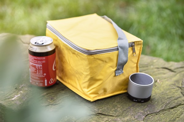 Polyester (420D) cooler bag - Light Blue