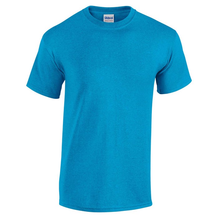 Tlusté tričko 185 g/m² Heavy T-Shirt 5000 - Heather Sapphire / XXL