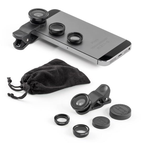 HILBERT. Set of universal mini lenses