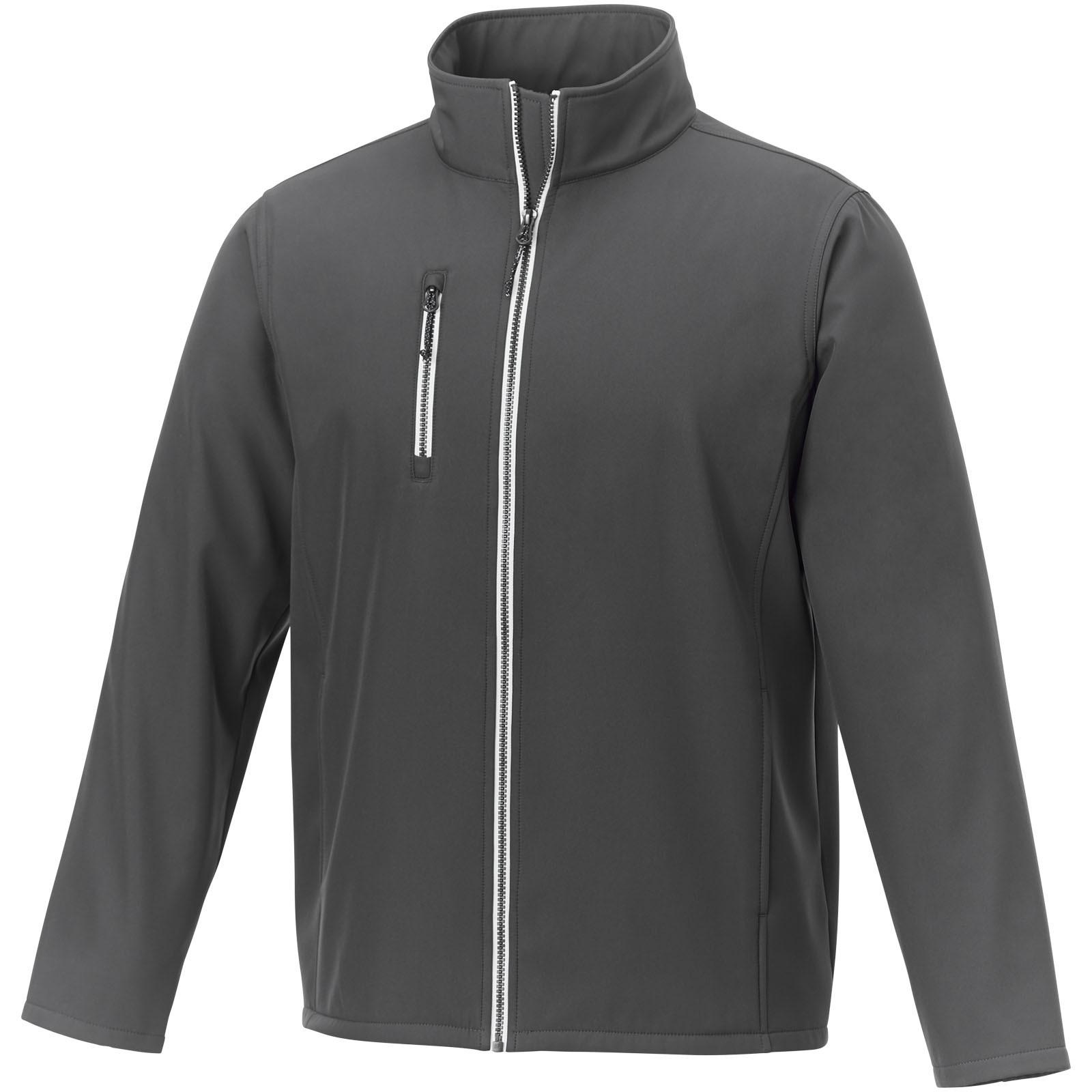 Orion men's softshell jacket - Storm Grey / XS