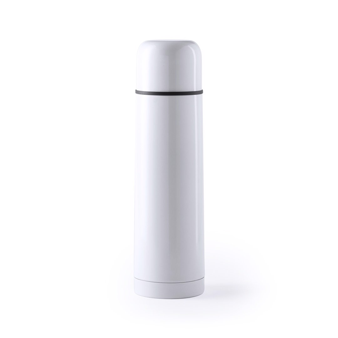 Vacuum Flask Tancher - White
