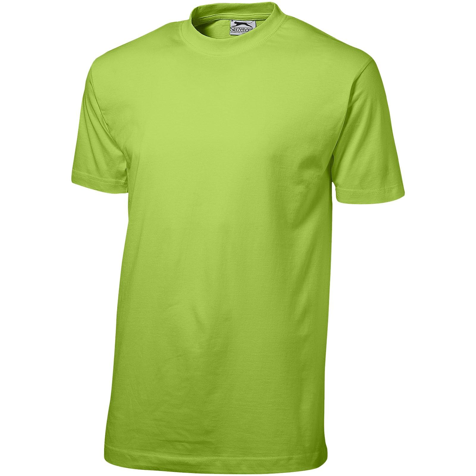 Pánské triko Ace s krátkým rukávem - Zelené jablko / 3XL