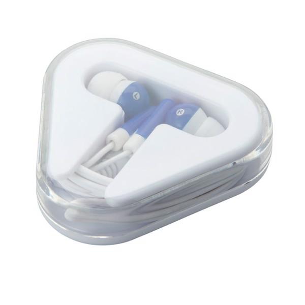 Słuchawki w pudełku Musiplug - granatowy