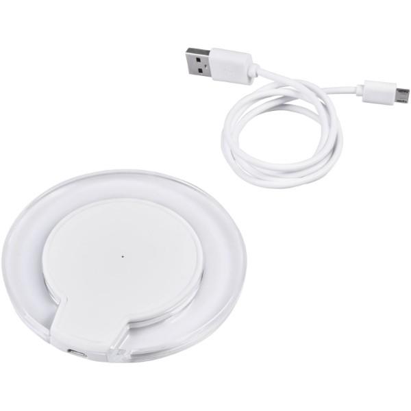 Bezprzewodowa ładowarka indukcyjna Meteor Qi® - Biały