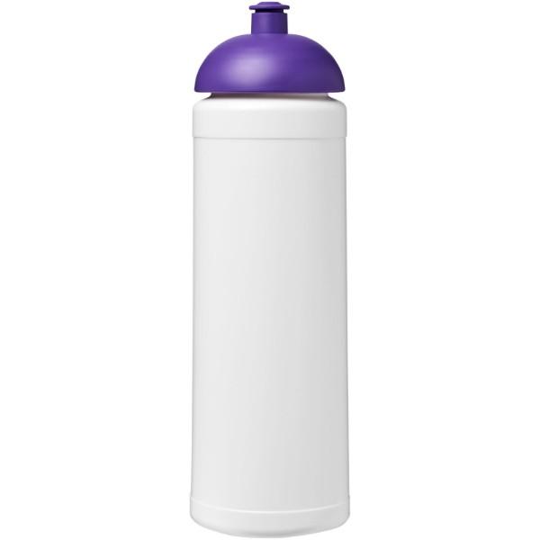 Sportovní láhev s kupolovitým víčkem Baseline® Plus 750 ml - Bílá / Purpurová