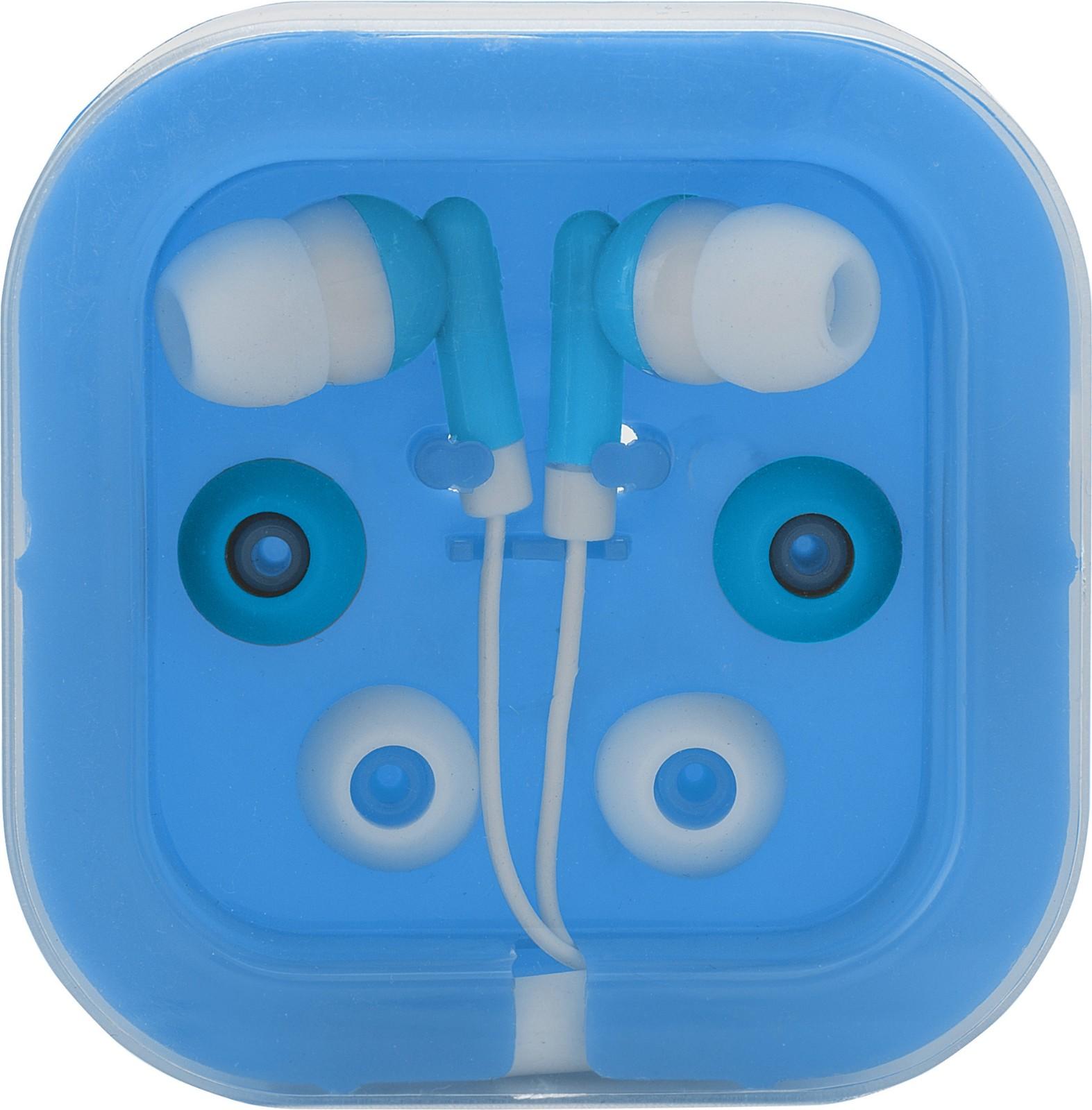 ABS earphones - Light Blue