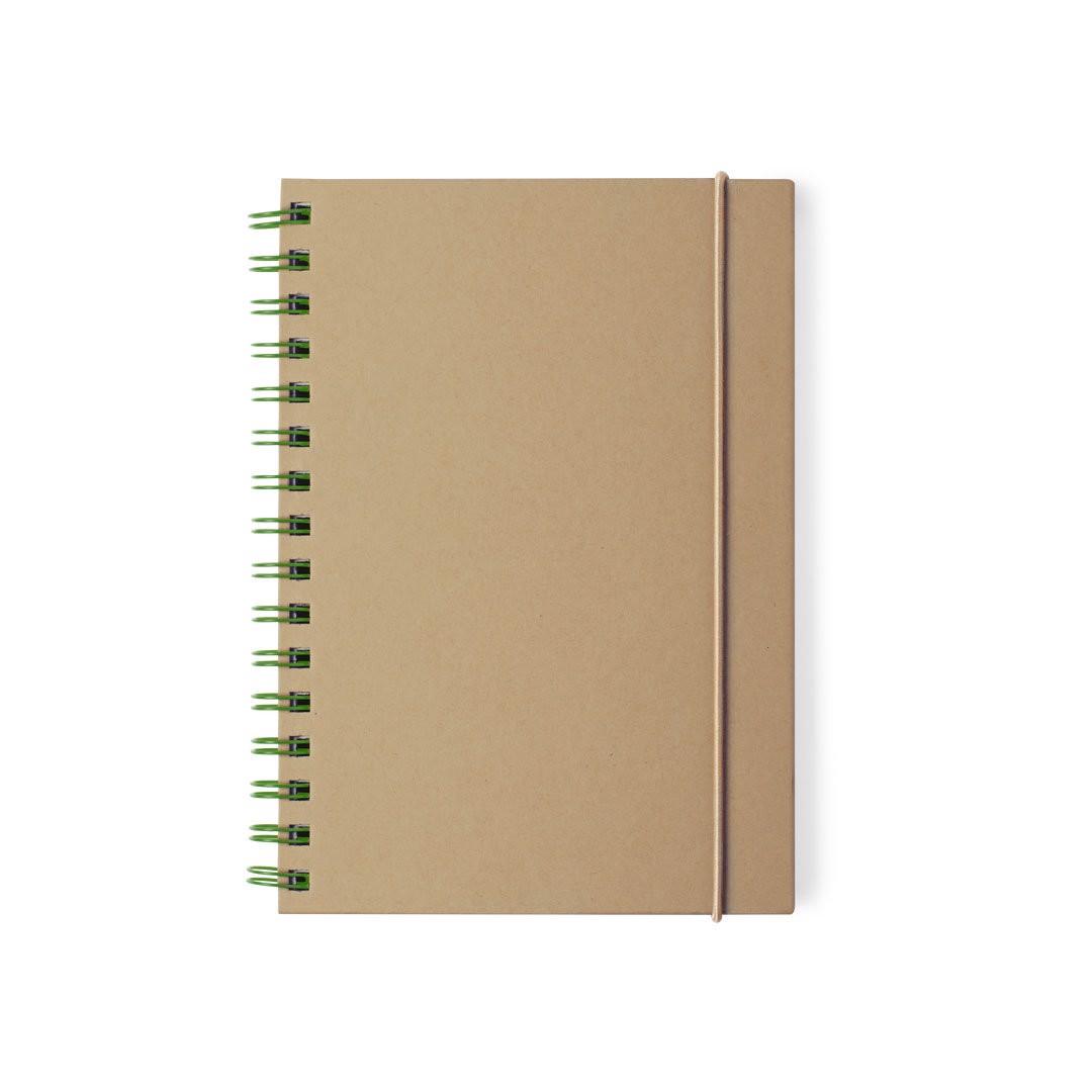 Caderno Zubar - Verde