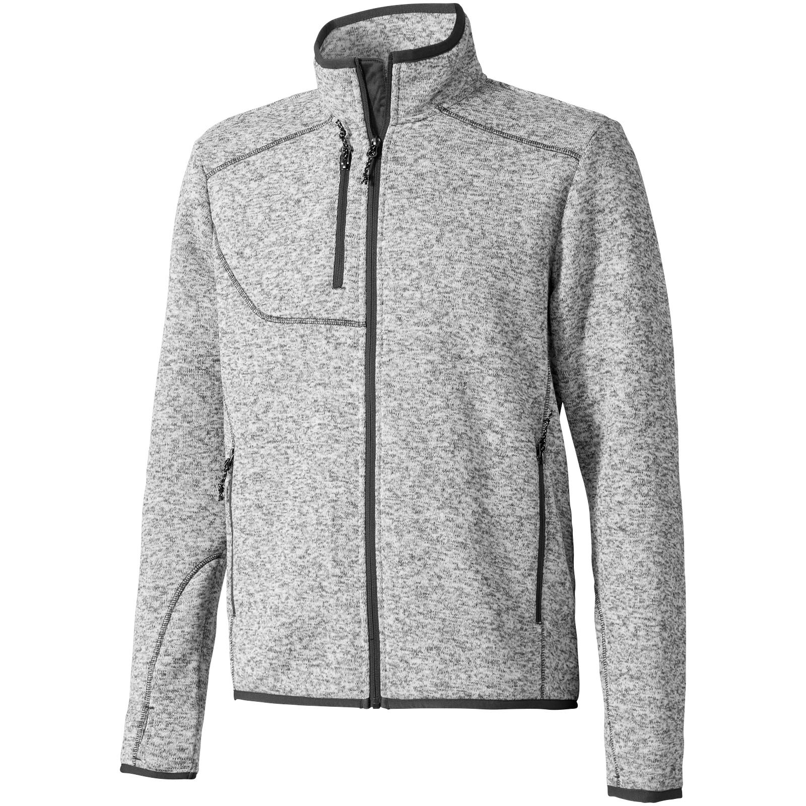 Tremblant knit jacket - Heather Grey / L