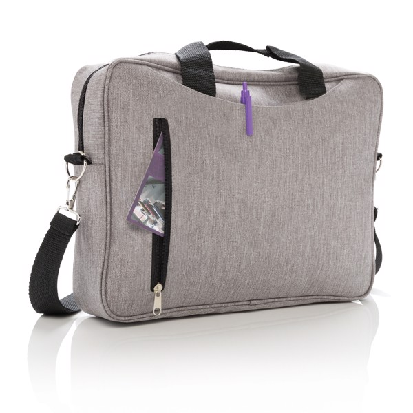 """Basic 15""""-os laptop táska - Szürke"""