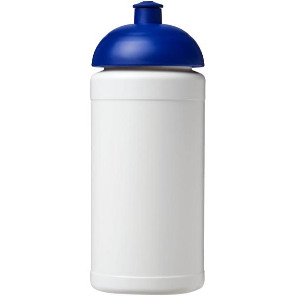 Baseline® Plus 500 ml dome lid sport bottle - White / Blue