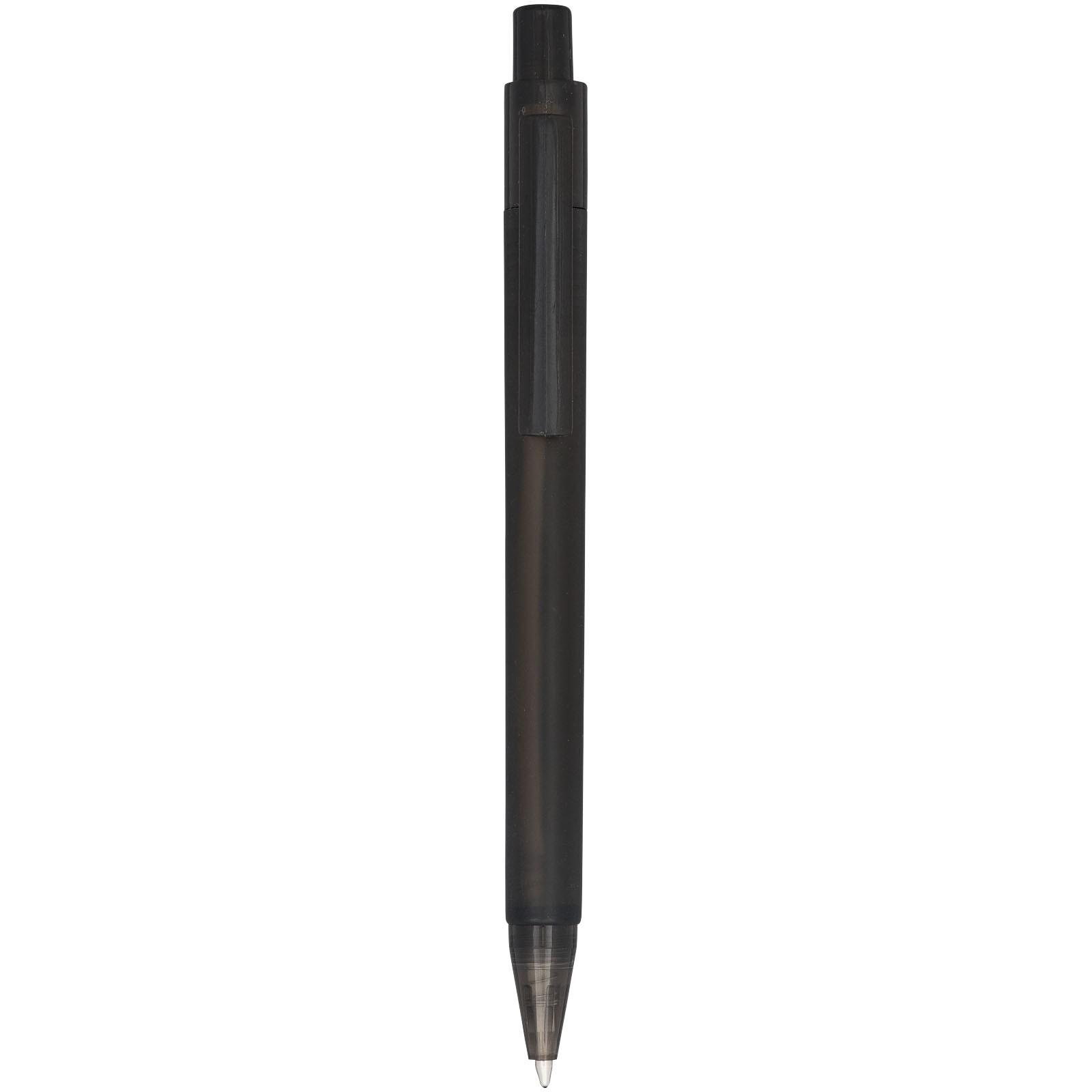 Calypso Kugelschreiber transparent matt - Frosted Black
