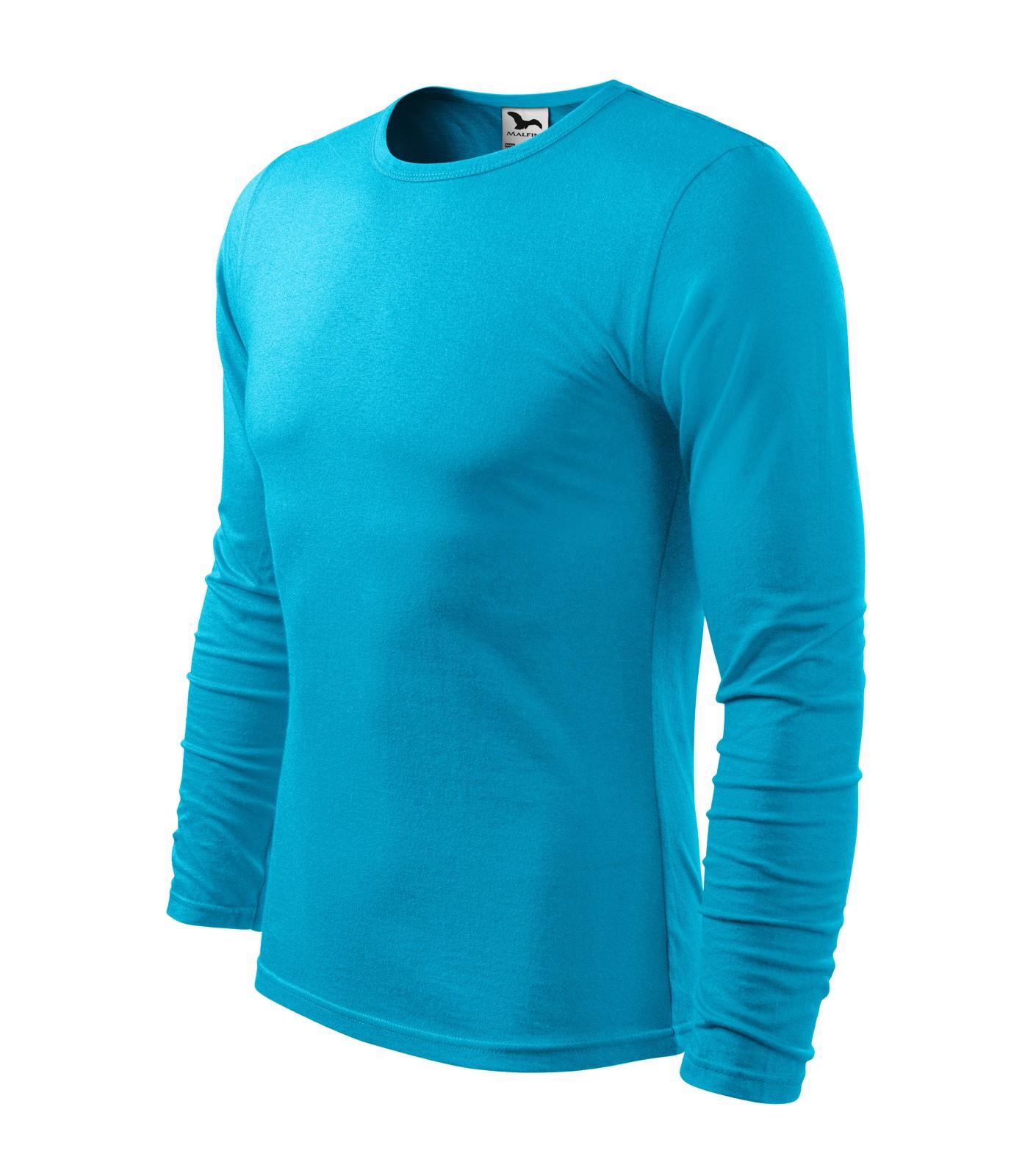 T-shirt men's Malfini Fit-T LS - Blue Atoll / XL