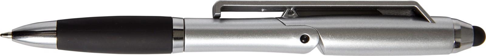 ABS 2-in-1 ballpen - Silver