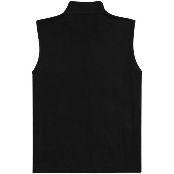 Tyndal men's fleece bodywarmer - Solid black / S