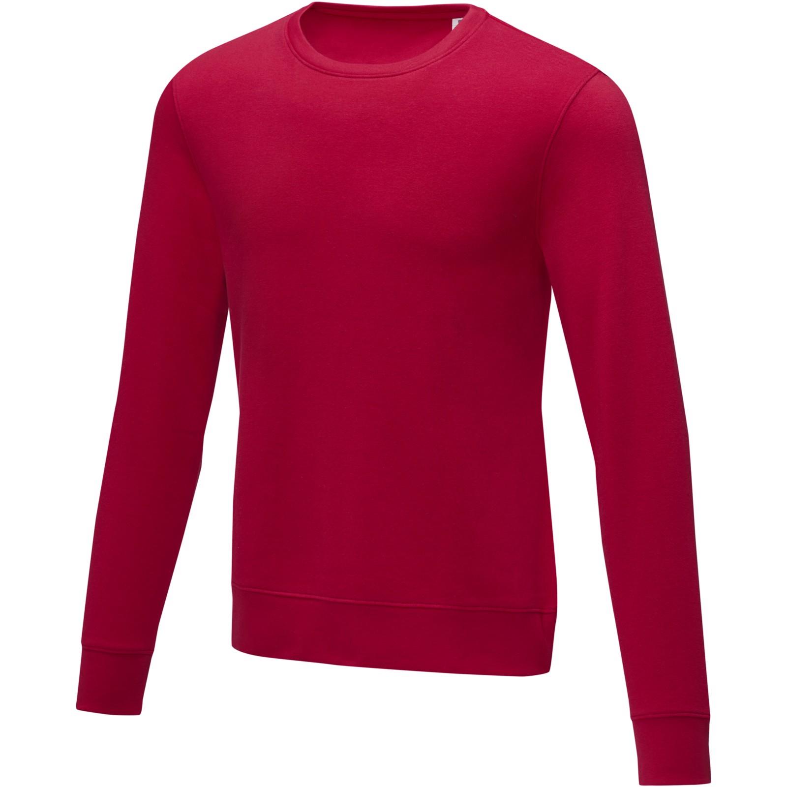 Zenon men's crewneck sweater - Red / XL