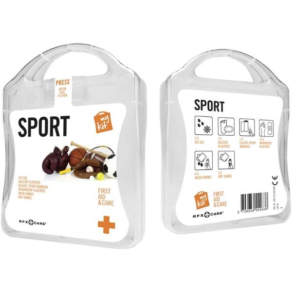 MyKit Kit de primero auxiliios Deporte - Blanco