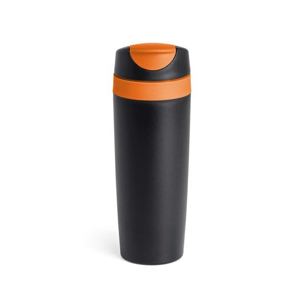 LILARD. Vaso de viaje - Naranja
