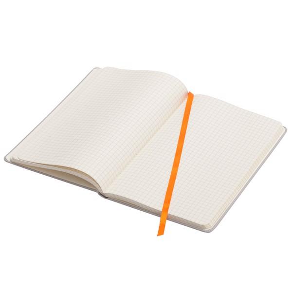 Notatnik 130x210/80k kratka Cartagena - Pomarańczowy