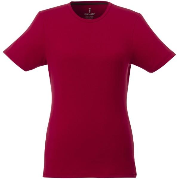 Balfour short sleeve women's GOTS organic t-shirt - Red / XL