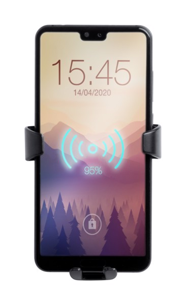 Stojánek Na Mobil Do Auta Tecnox - Černá