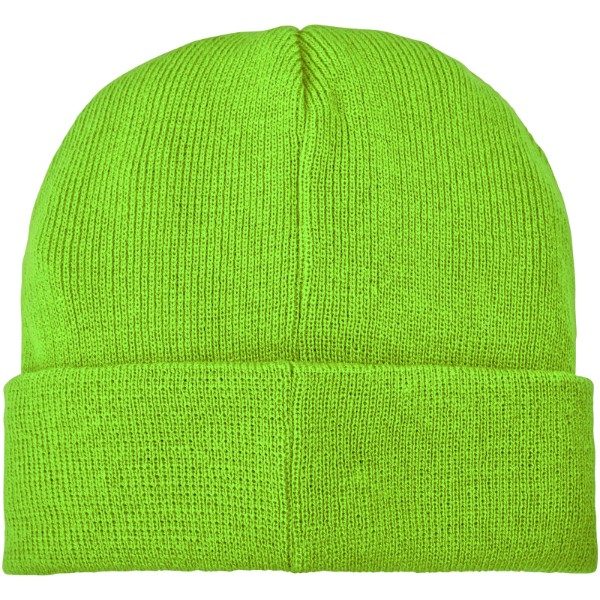 Boreas beanie with patch - Apple Green
