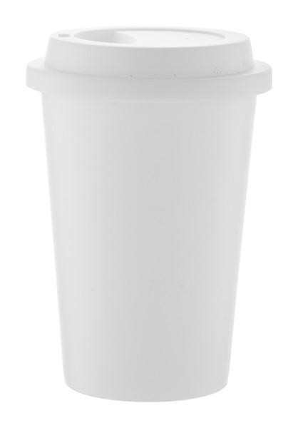 Antibakteriální Hrnek Koton - Bílá