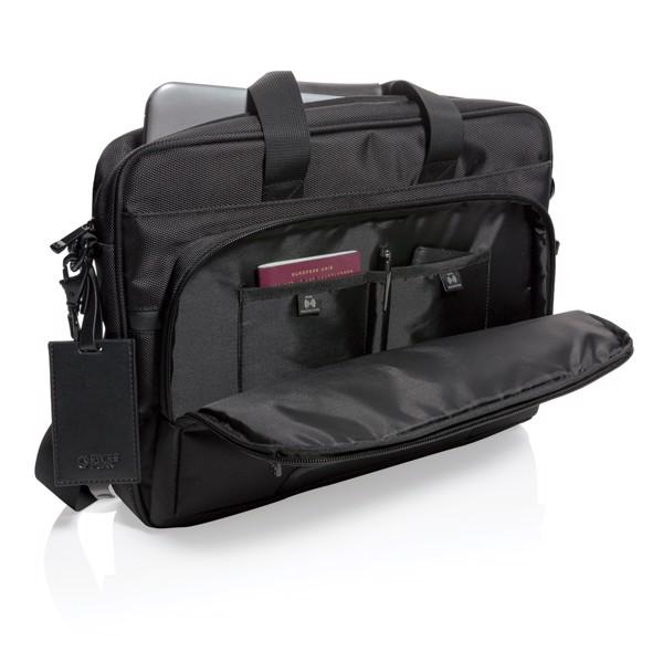 "Swiss Peak USB & RFID taška Voyager na 15,6"" notebook"