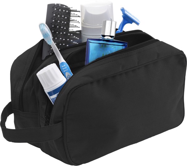 Polyester (600D) toilet bag