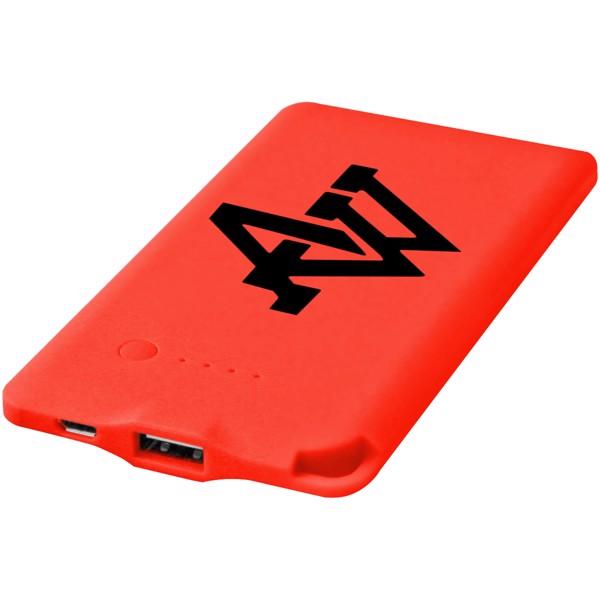 Powerbank WS119 4000mAh - Červená s efektem námrazy / 4000mAh