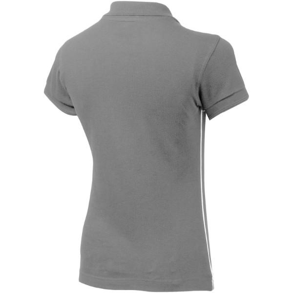 Backhand Damen Poloshirt - Grau / XL