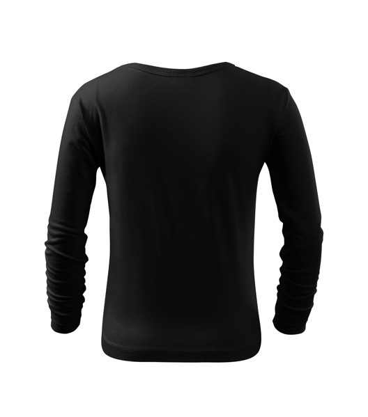 Triko dětské Malfini Fit-T LS - Černá / 110 cm/4 roky
