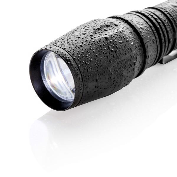 Vysoce odolná CREE svítilna 10 W - Černá