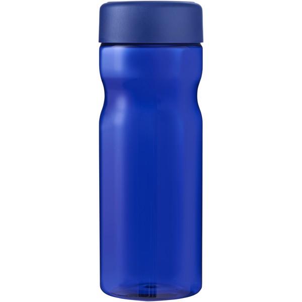 H2O Base 650 ml screw cap water bottle - Blue