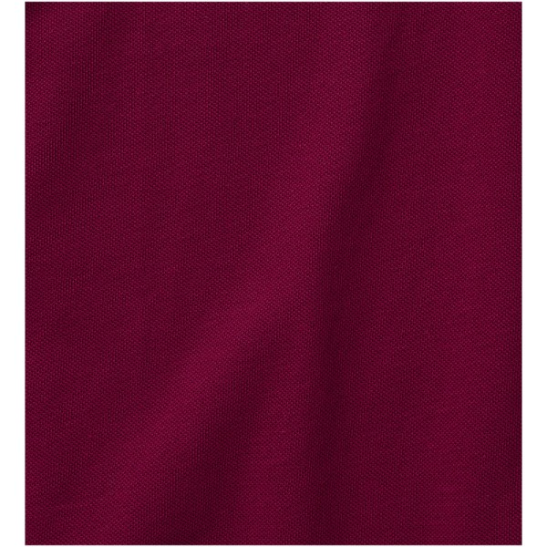 Calgary short sleeve men's polo - Burgundy / M