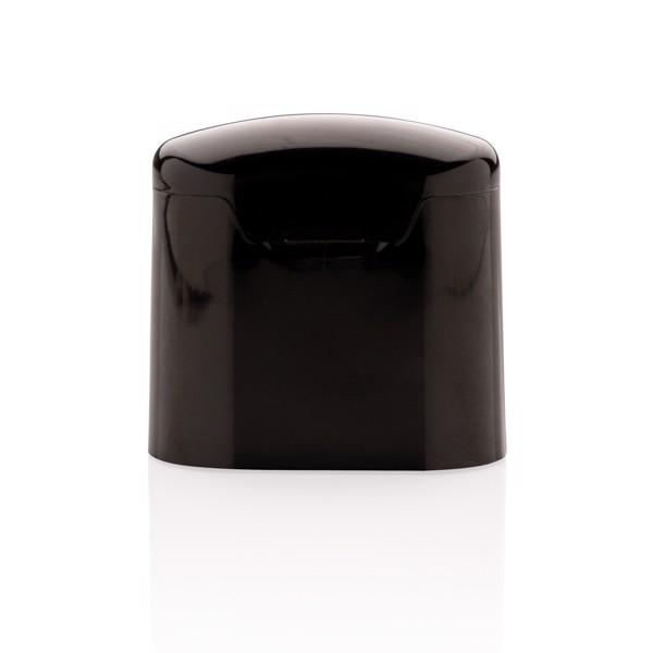 Skutečně bezdrátová sluchátka Liberty v nabíjecí krabičce - Černá