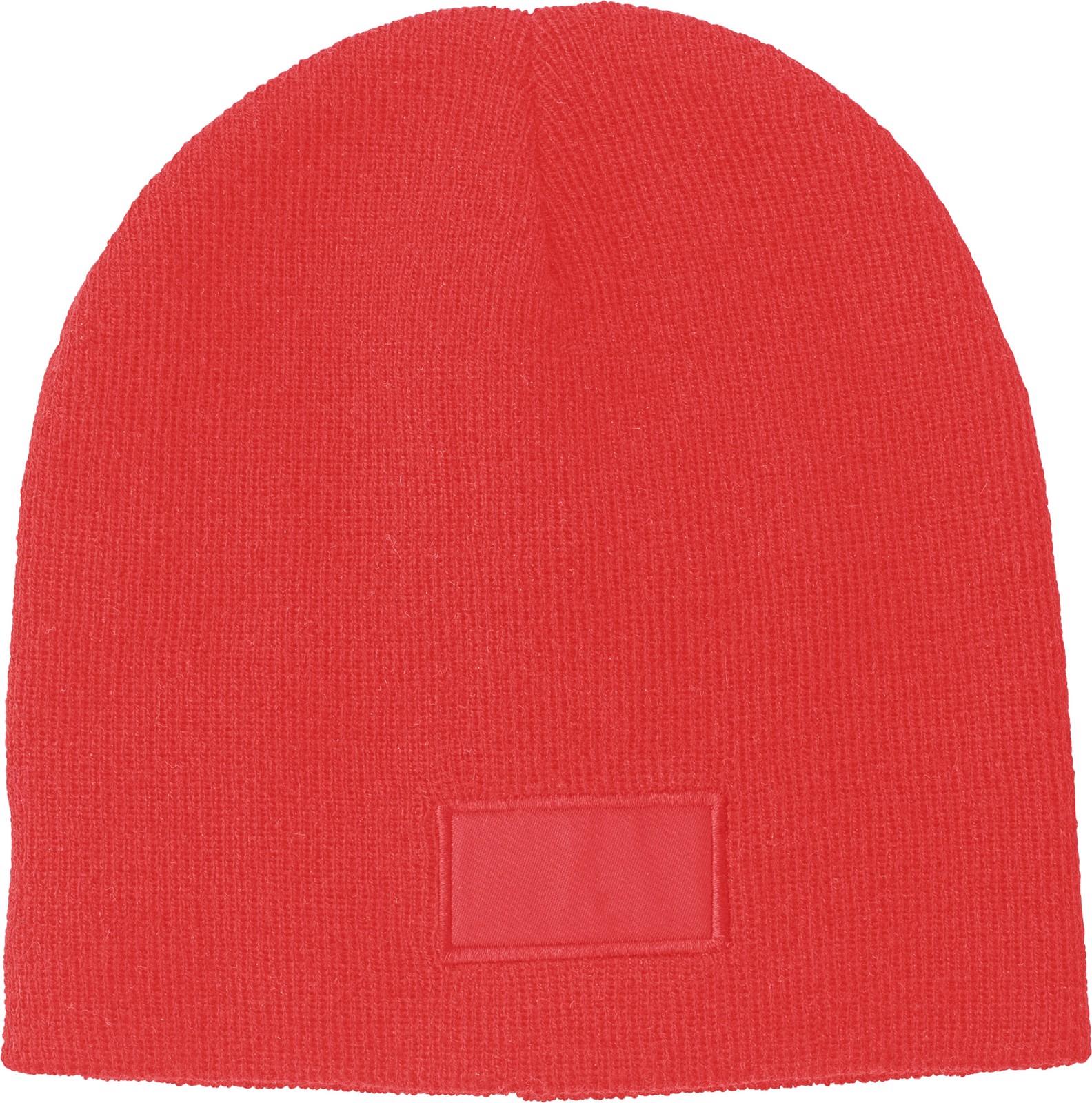 Acrylic beanie - Red