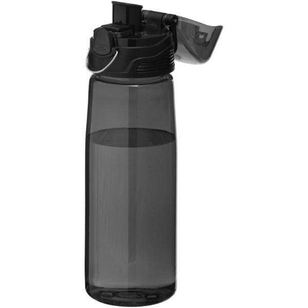 Sportovní láhev Capri - Transparentní černá